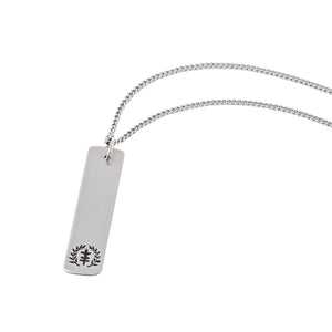 Tag Logo Necklace