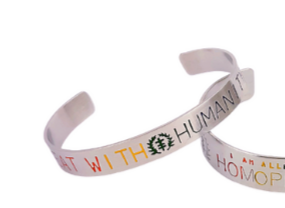 Pride Edition Antidote - Social Justice Message Stainless Steel Cuff Bracelet