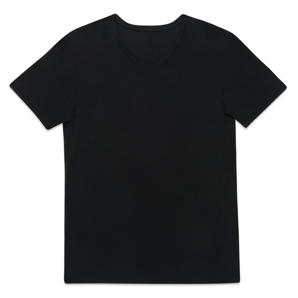 Essential V Neck - Black