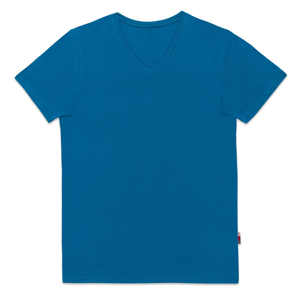 Essential V Neck - Teal