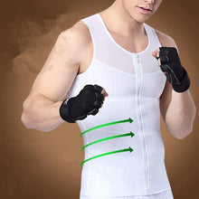 Load image into Gallery viewer, Gynecomastia and Pseudogynecomastia Compression Zipper Vest - FirmGuards