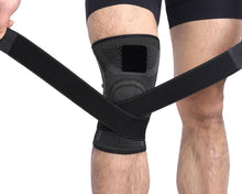 Load image into Gallery viewer, Knee Support Brace Compression Sleeve with Stabilizer Strap - FirmGuards