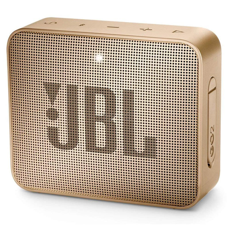 Portable Speaker|JBL|GO 2|Portable/Waterproof/Wireless|1xMicro-USB|1xStereo jack 3.5mm|Bluetooth|Champagne|JBLGO2CHAMPAGNE
