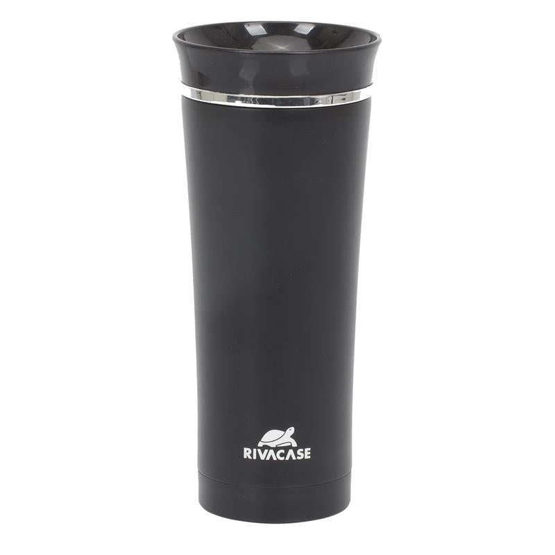 VACUUM TRAVEL MUG 0.45L/BLACK 90343BK RIVACASE