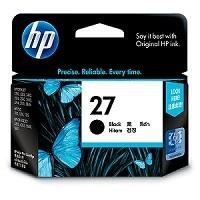 INK CARTRIDGE BLACK NO.27/10ML C8727AA HP