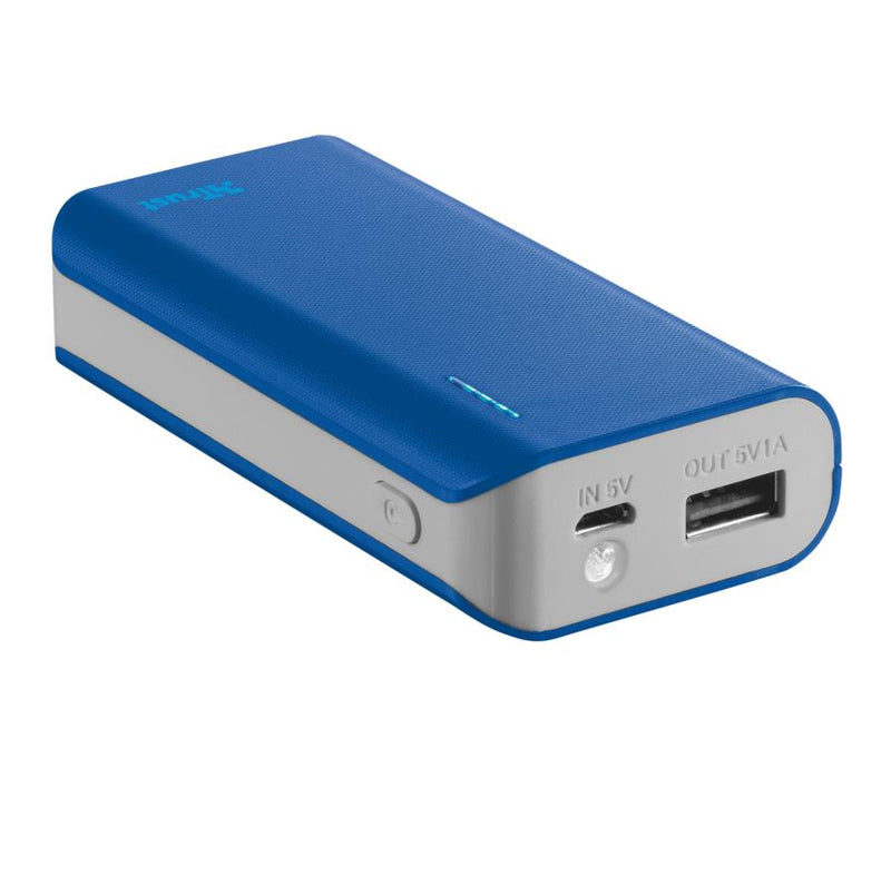 POWER BANK USB 4400MAH PORTAB./BLUE PRIMO 21225 TRUST