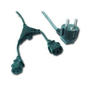 CABLE POWER SPLITTER VDE 2M/PC-186-ML6 GEMBIRD