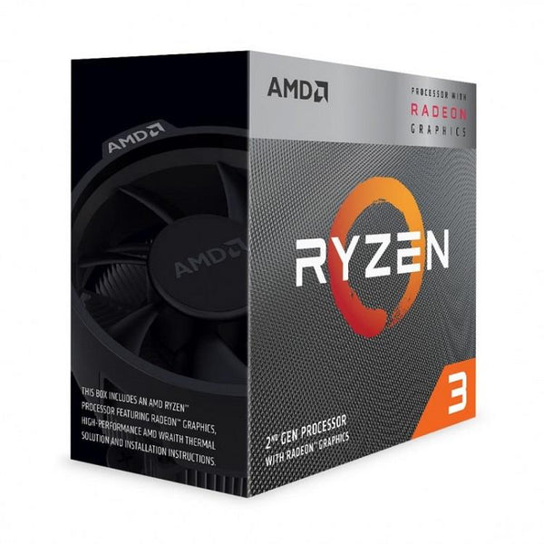CPU|AMD|Ryzen 3|3200G|3600 MHz|Cores 4|4MB|Socket SAM4|65 Watts|GPU Radeon Vega 8|BOX|YD3200C5FHBOX
