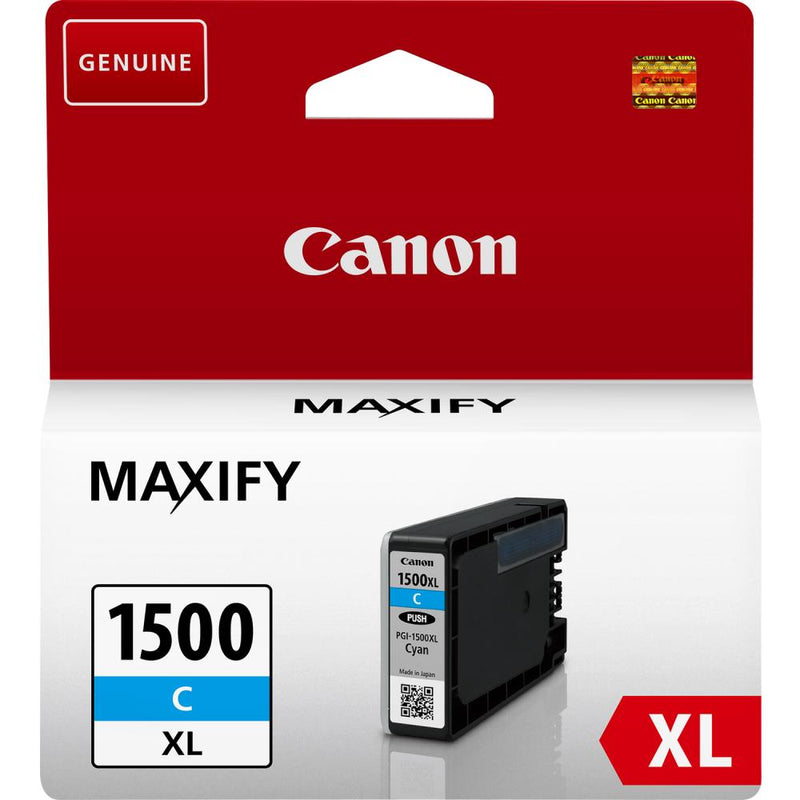 INK CARTRIDGE CYAN PGI-1500XL/9193B001 CANON