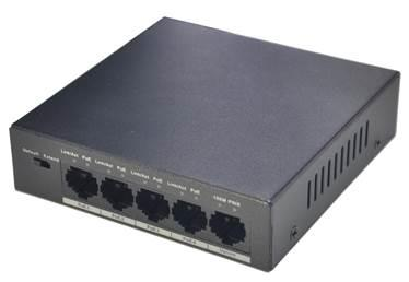 NET SWITCH 4PORT 4POE 10/100/PFS3005-4P-58 DAHUA