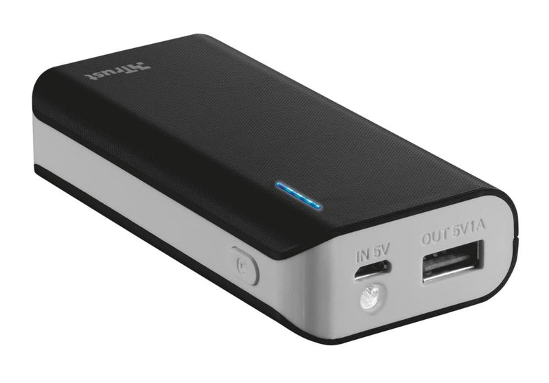 POWER BANK USB 5200MAH PORTAB./BLACK PRIMO 21635 TRUST