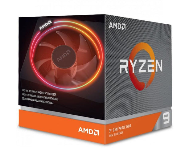 CPU|AMD|Ryzen 9|3900X|3800 MHz|Cores 12|64MB|Socket SAM4|105 Watts|OEM|100-100000023BOX