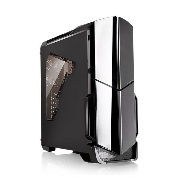 Case|THERMALTAKE|Versa N21|MidiTower|Not included|ATX|MicroATX|MiniITX|Colour Black|CA-1D9-00M1WN-00
