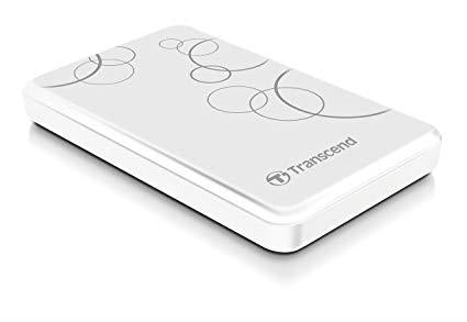 External HDD|TRANSCEND|StoreJet|2TB|USB 3.1|Colour White|TS2TSJ25A3W