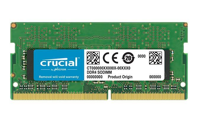 NB MEMORY 4GB PC25600 DDR4/SO CT4G4SFS632A CRUCIAL