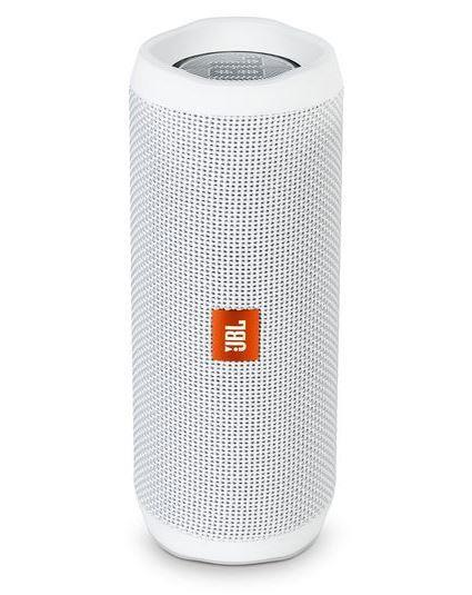 Portable Speaker|JBL|Flip 4|Portable/Waterproof/Wireless|1xMicro-USB|1xStereo jack 3.5mm|Bluetooth|White|JBLFLIP4WHT
