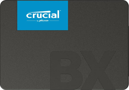 SSD|CRUCIAL|BX500|1TB|SATA 3.0|Write speed 500 MBytes/sec|Read speed 540 MBytes/sec|2,5"