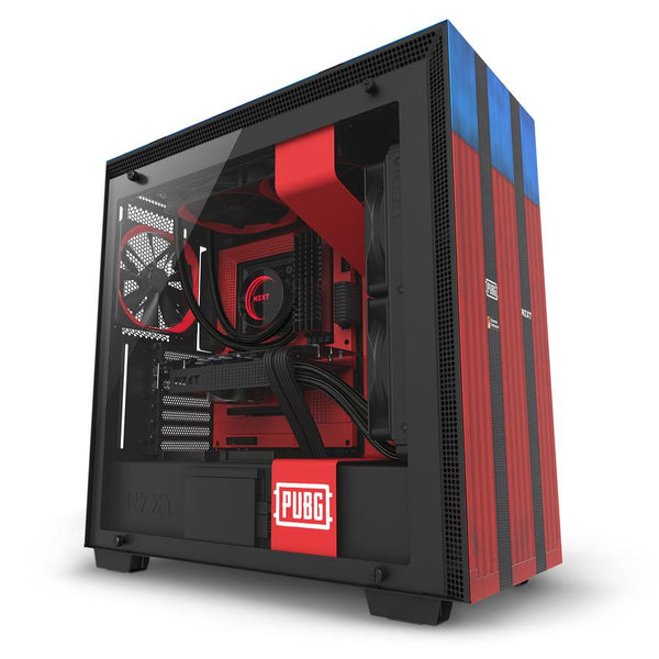 Case|NZXT|H700 PUBG|MidiTower|Not included|ATX|EATX|MicroATX|MiniITX|Colour Black / Red|CA-H700B-PG