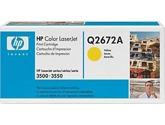 TONER YELLOW /LJ3500/Q2672A HP