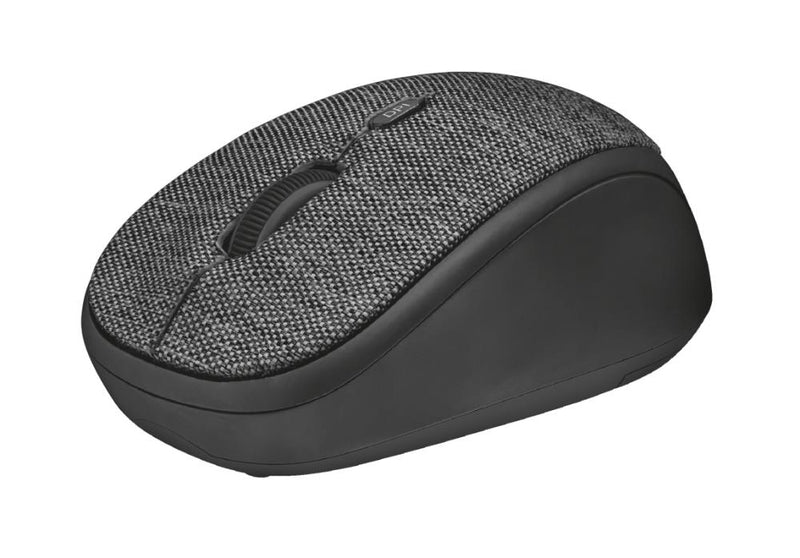 MOUSE USB OPTICAL WRL/YVI FABRIC BLACK 22628 TRUST