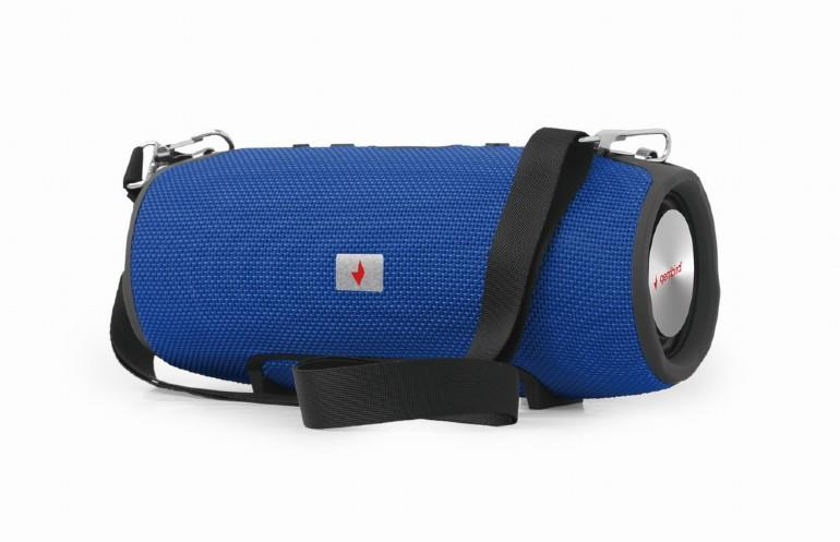 Portable Speaker|GEMBIRD|Portable/Wireless|1xMicro-USB|1xMicroSD Card Slot|Bluetooth|Blue|SPK-BT-06-B