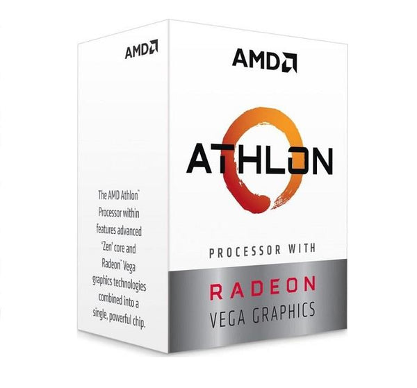 CPU|AMD|Athlon|200GE|Raven Ridge|3200 MHz|Cores 2|4MB|Socket SAM4|35 Watts|GPU Radeon Vega 3|BOX|YD200GC6FBBOX