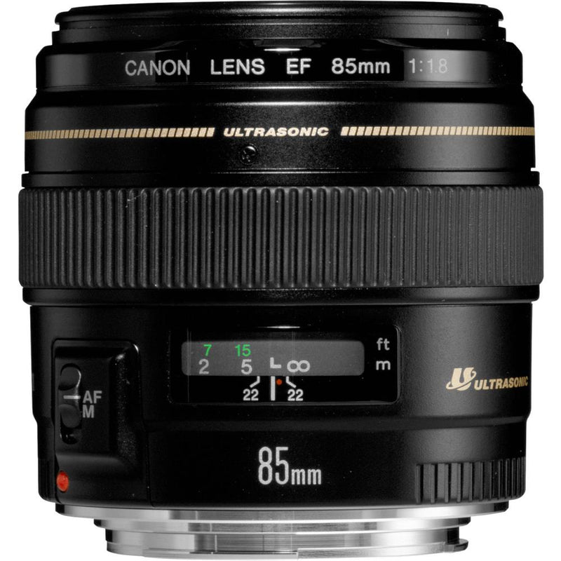 CAMERA LENS 85MM F1.8 USM/2519A012 CANON