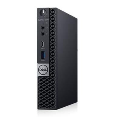 PC|DELL|OptiPlex|5070|Business|Micro|CPU Core i5|i5-9500T|2200 MHz|RAM 8GB|DDR4|2666 MHz|SSD 256GB|Graphics card Intel UHD Graphics 630|Integrated|EST|Windows 10 Pro|Included Accessories Dell Optical Mouse - MS116; Dell Multimedia Keyboard|N005O5070MFF_2