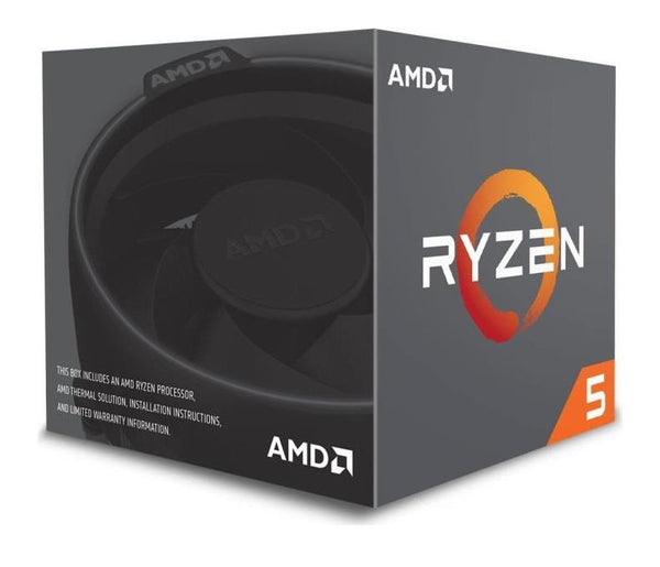 CPU|AMD|Ryzen 5|2600|Pinnacle Ridge|3400 MHz|Cores 6|16MB|Socket SAM4|65 Watts|BOX|YD2600BBAFBOX