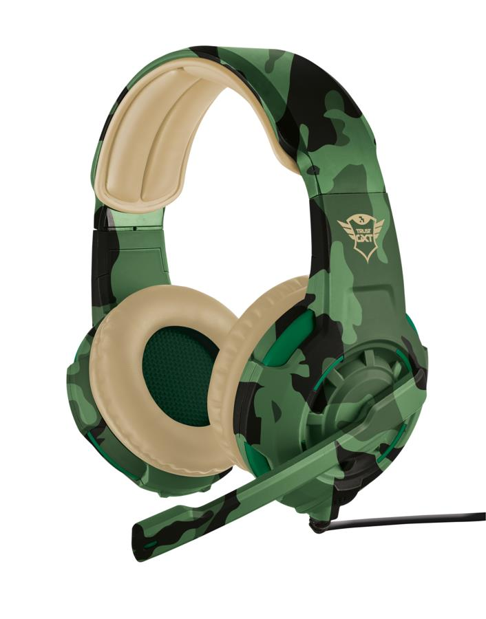 HEADSET GXT 310C JUNGLE CAMO/22207 TRUST