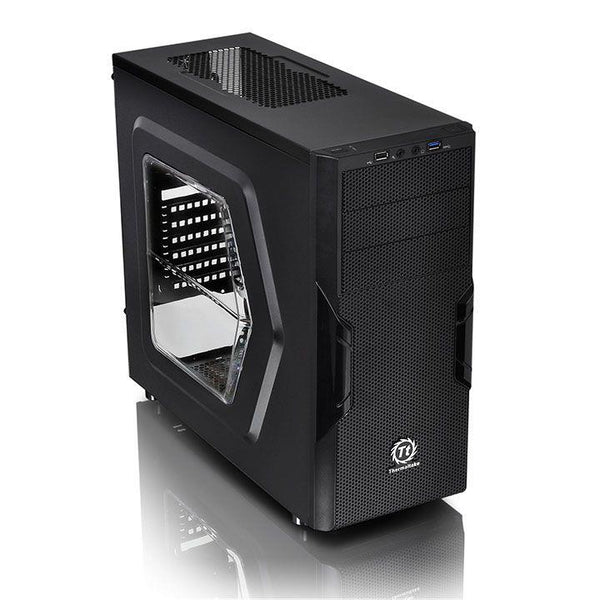 Case|THERMALTAKE|Versa H22 - Window|MidiTower|Not included|ATX|MicroATX|Colour Black|CA-1B3-00M1WN-00