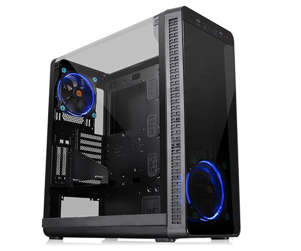 Case|THERMALTAKE|View 37 Riing Edition|MidiTower|Not included|ATX|MicroATX|MiniITX|Colour Black|CA-1J7-00M1WN-00