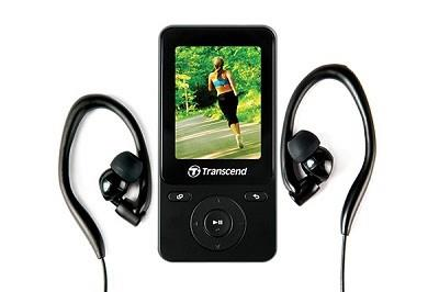 MP3 PLAYER 8GB BLACK/TS8GMP710K TRANSCEND