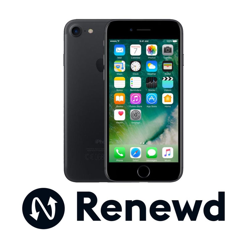 MOBILE PHONE IPHONE 7 32GB/BLACK RND-P70132 APPLE RENEWD