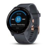 SMARTWATCH VIVOACTIVE 3 MUSIC/BLUE/GOLD 010-01985-33 GARMIN