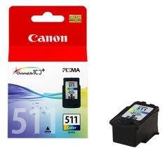 INK CARTRIDGE COLOR CL-511/2972B001 CANON
