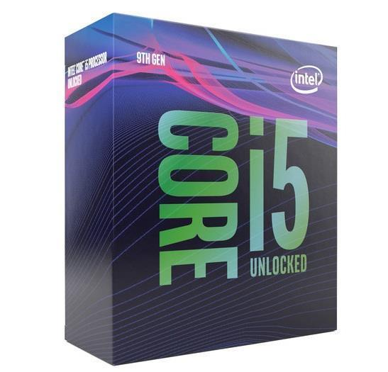 CPU|INTEL|Core i5|i5-9600K|Coffee Lake|3700 MHz|Cores 6|9MB|95 Watts|GPU UHD 630|BOX|BX80684I59600KSRG11