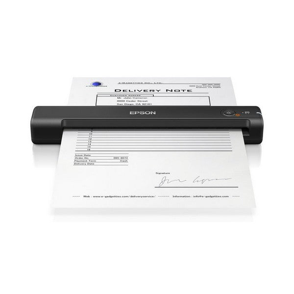 Kaasaskantav Skänner Epson WorkForce ES-50 600 dpi USB 2.0 Must