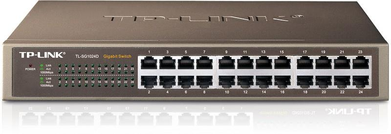 NET SWITCH 24PORT 1000M/TL-SG1024D TP-LINK