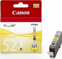 INK CARTRIDGE YELLOW CLI-521Y/2936B001 CANON