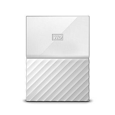 External HDD|WESTERN DIGITAL|My Passport|4TB|USB 3.0|Colour White|WDBYFT0040BWT-WESN