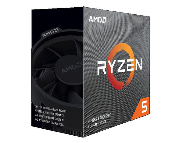 CPU|AMD|Ryzen 5|3600|3600 MHz|Cores 6|32MB|Socket SAM4|65 Watts|BOX|100-100000031BOX