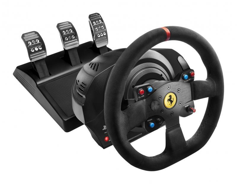 STEERING WHEEL T300 FERRARI IN/ALCANTARA 4160652 THRUSTMASTER