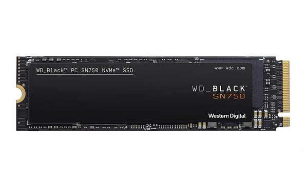 SSD|WESTERN DIGITAL|Black SN750|1TB|M.2|PCIE|Write speed 3000 MBytes/sec|Read speed 3470 MBytes/sec|MTBF 1750000 hours|WDS100T3X0C