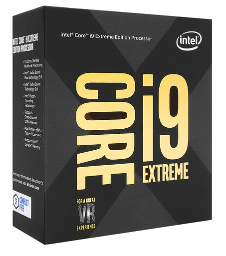 CPU|INTEL|Core i9|i9-7980XE|Skylake|2600 MHz|Cores 18|24.75MB|Socket LGA2066|165 Watts|BOX|BX80673I97980XSR3RS