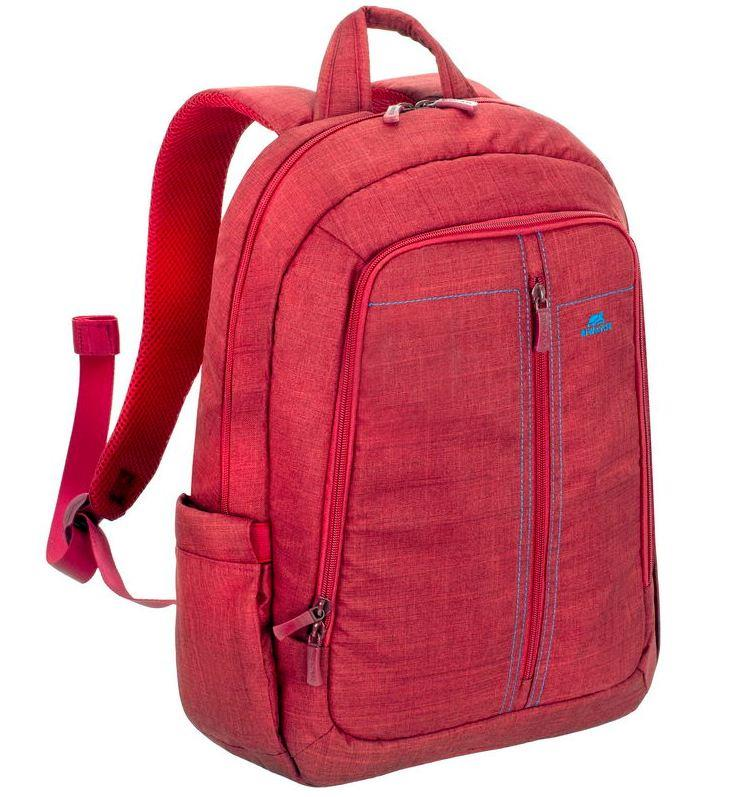 "NB BACKPACK CANVAS 15.6""/7560 RED RIVACASE"