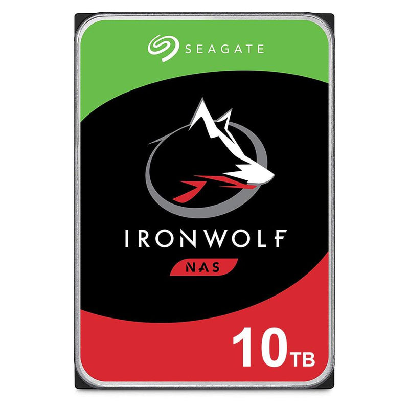 HDD|SEAGATE|IronWolf|10TB|SATA|256 MB|7200 rpm|Discs/Heads 8/13|3,5"
