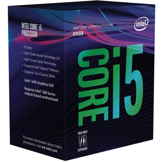 CPU|INTEL|Core i5|i5-9500|Coffee Lake|3000 MHz|Cores 6|9MB|65 Watts|GPU UHD 630|BOX|BX80684I59500SRF4B