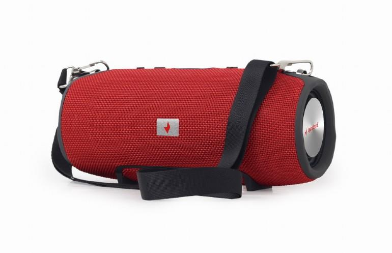 Portable Speaker|GEMBIRD|Portable/Wireless|1xMicro-USB|1xMicroSD Card Slot|Bluetooth|Red|SPK-BT-06-R