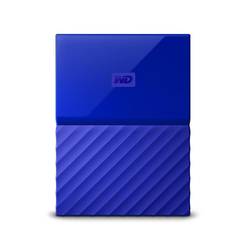 External HDD|WESTERN DIGITAL|My Passport|2TB|USB 3.0|Colour Blue|WDBS4B0020BBL-WESN